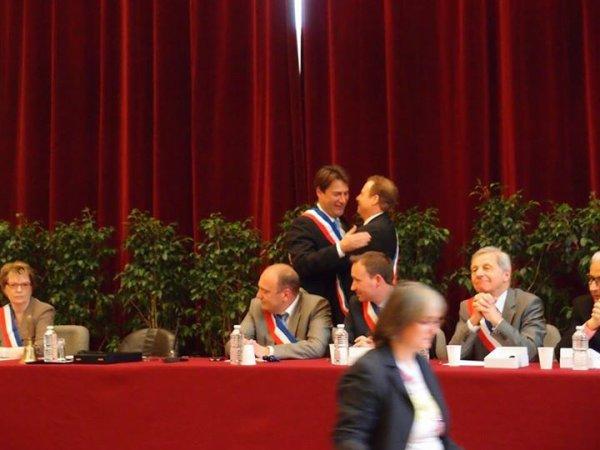 Conseil d' installation à Hotel de Ville de Saint-Maur-des-Fossés ( Val de Marne )