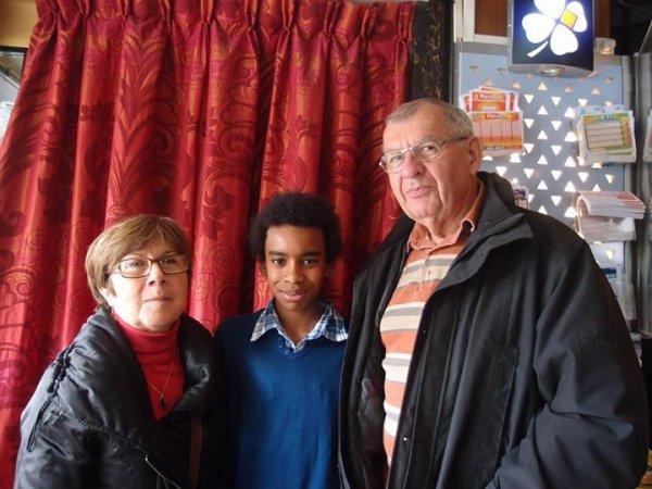 William Ombagho,Jeune militant de 16 ans : Fêter du Jardinage  ( Saint-Maur-des-Fosses )