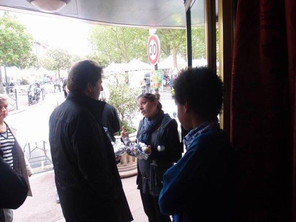 William Ombagho,Stéphanie Dubeaurepaire,Patricia Pebade rencontre Sylvain Berrios Député du val de Marne -Maire de Saint-Maur-des-Fosses : Fêter du Jardinage  ( Saint-Maur-des-Fosses )