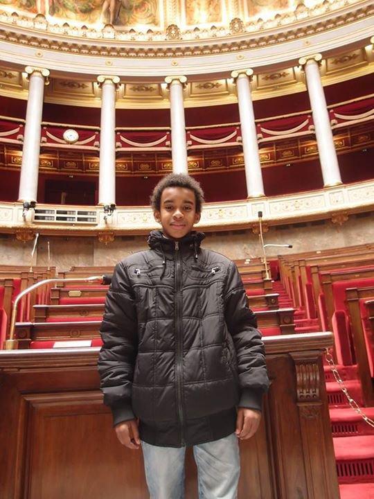 """Assemblée national    """"  William Ombagho, Jeune militant de 15 ans """""""