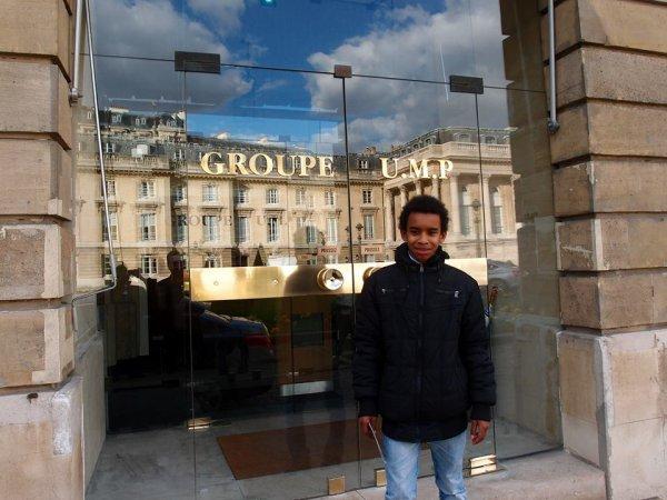 """Assemblée nationale - 126 rue de l'Université 75355 Paris  """"  William Ombagho, Jeune militant de 15 ans """""""