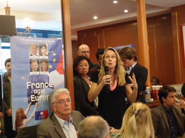 """Constance Le Grip Députée européenne et candidate sur la liste UMP d'Ile de France """"Pour la France agir en Europe"""""""