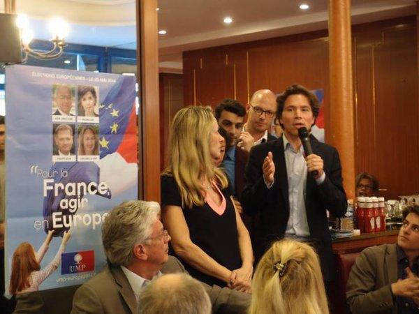 Geoffroy Didier Secrétaire Général adjoint de l'UMP et candidat sur la liste UMP d'Ile de France
