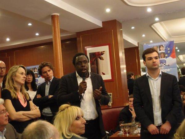 """Stephane Tiki Secrétaire national de l'UMP - Délégué National des Jeunes Populaires """"Pour la France agir en Europe"""""""