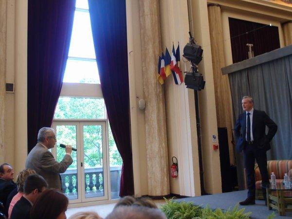 """Réunion publique sur le thème """"Quelle Europe pour demain?"""" en présence de Bruno Le Maire"""
