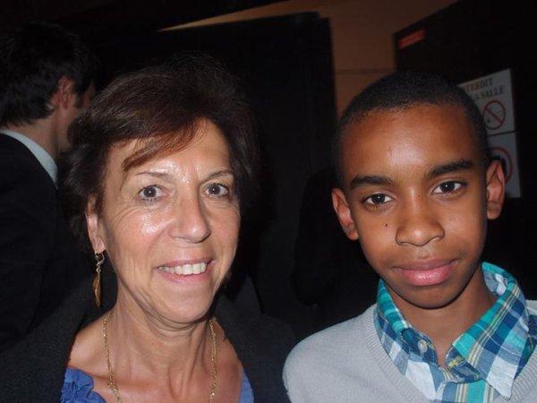 """Ctherine Procaccia Sénateur Val de Marne  rencontre William Ombagho,jeune militant de 16 ans   """" Valérie Pécresse à L'Haÿ-les-Roses : Lancement de l'opération """""""