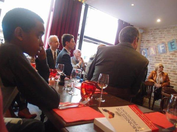 """Dîner-Débat avec Sandrine Campese, auteure du livre """"Monsieur le Président, je vous écris aujourd'hui...""""."""