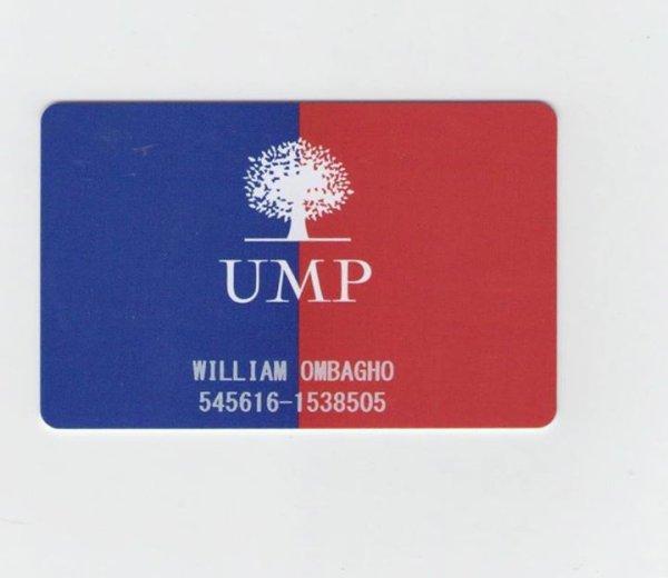 William Ombagho, jeune 16 ans, militant de UMP ,Je deviendrai militant à UMP.