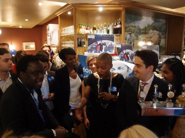 Réunion de soutien à la candidature de Nicolas Sarkozy