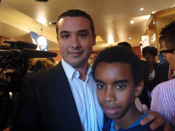 """Geoffrey CARVALHINHO rencontre William Ombagho """" Réunion de soutien à la candidature de Nicolas Sarkozy """""""
