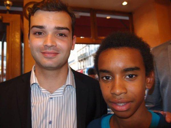 """Michael Miguères rencontre William Ombagho """" réunion de soutien à la candidature de Nicolas Sarkozy"""""""