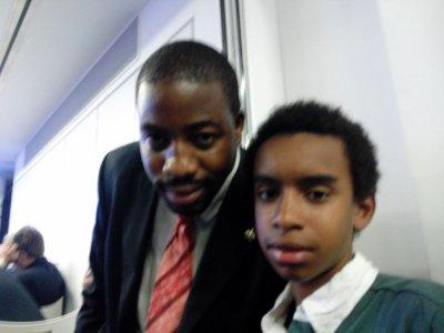 """Francois-xavier Mbouyom rencontre William Ombagho """" Pour une politique indépendante française en Europe de l' Est """""""