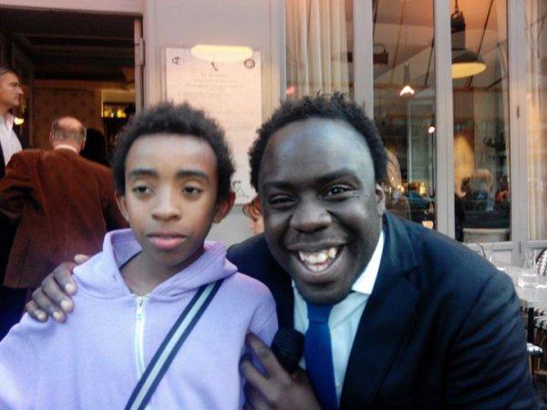 """William Ombagho,jeune militant de 16 ans & Kenny Ombagho, jeune miolitant de 14 ans rencontre Stephane TIKI """"  Café de la politique avec Rachida Dati ancienne ministre de la justice,le maire 7e de Paris et Député Européen """""""