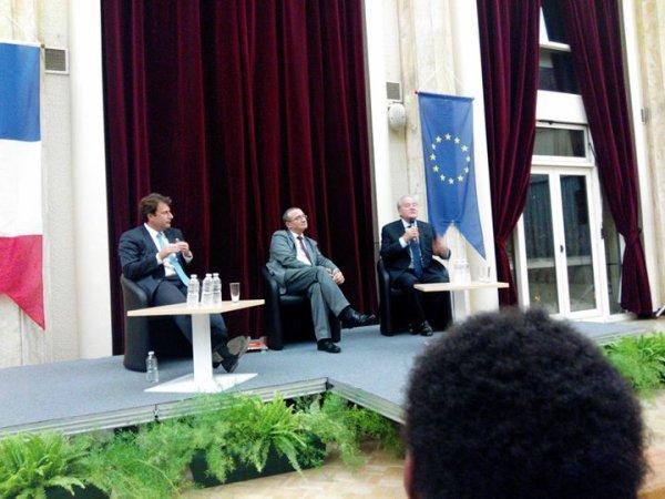 """William Ombagho,jeune militant de 16 ans """" Hervé Mariton candidat le présidence de l' UMP """""""