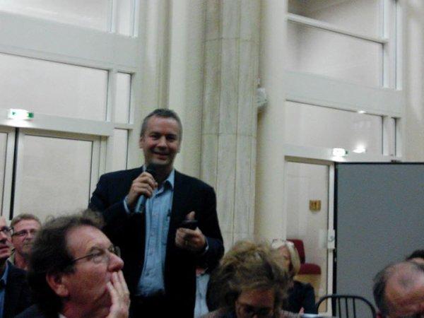 Hervé Mariton candidat le présidence de l' UMP