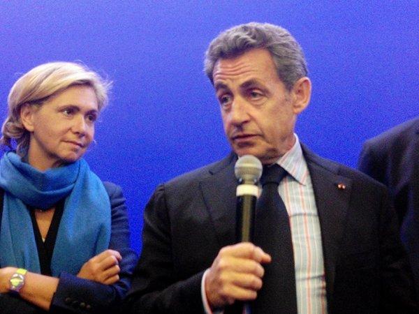 Nicolas Sarkozy, ancien président de la république de la France 2007 à 2012 , le président UMP  et Républicains 2015