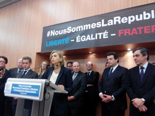 Nicolas Sarkozy et François Fillon , côte à côte pour soutenir Valérie Pécresse en Ile-de-France