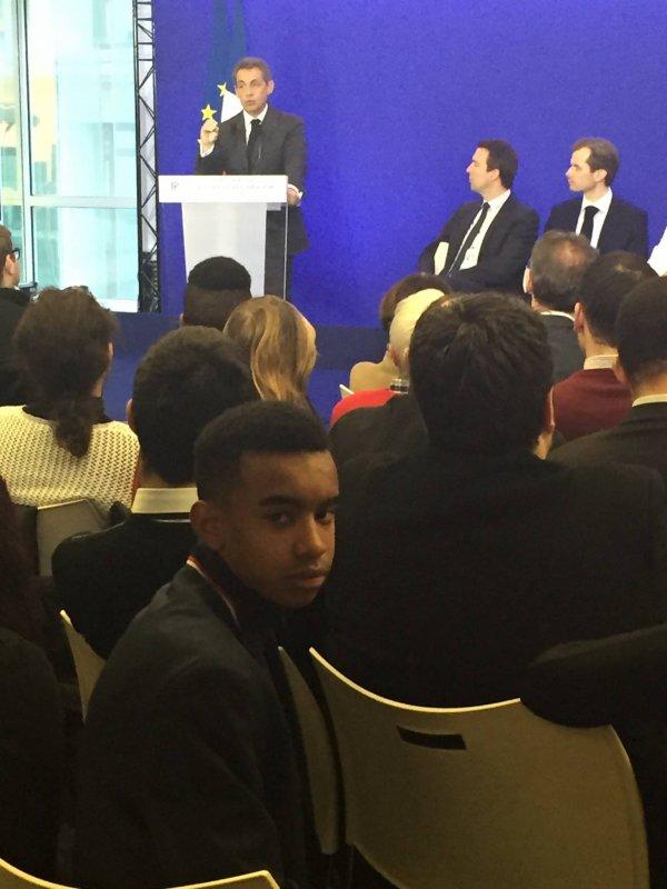 Réunion des nouveaux adhérents 2016 avec Nicolas Sarkozy le Président des Républicains
