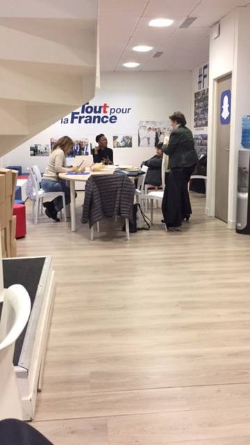 Phoning QG NS Primaire Je suis bénévole de compagne de Nicolas Sarkozy candidat Primaire Droite et Centre