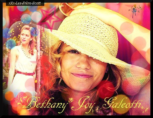 Bethany Joy Galeotti alias Haley Scott