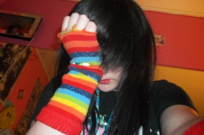 Me - Cosplaying As - Emo Olette [ Pass Or Fail? o.O ]