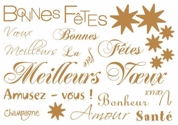 Bonne année a mes amis