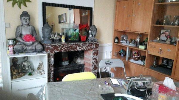 Une partie de notre nouveau salon .emmenager ce week-end nouvelle vie
