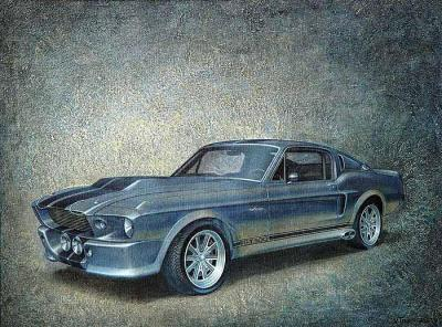 shelby gt 500 eleanor 1967 dj. Black Bedroom Furniture Sets. Home Design Ideas