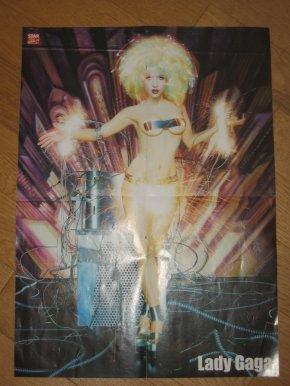 Poster Justin Bieber - Lady Gaga