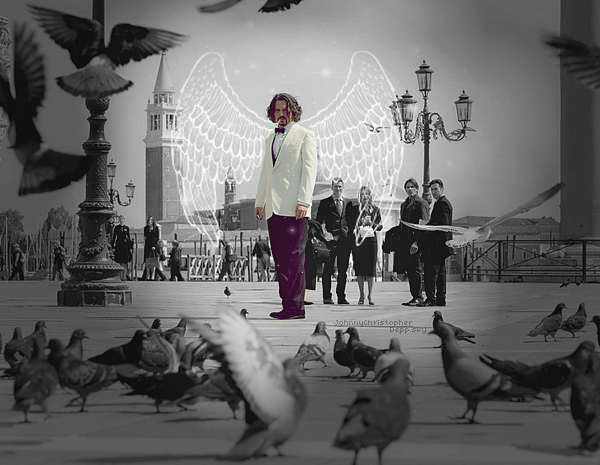 ■ Like an angel. The tourist photo.   ■ JohnnyChristopherDepp ,  Fanblog | loveblog.