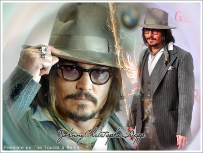 ■ The Tourist in Berlin 14 / 12 / 10   ■ JohnnyChristopherDepp ,  Fanblog | loveblog.
