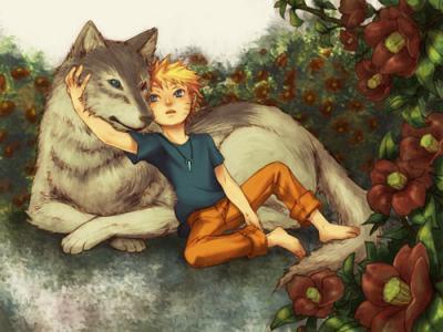 naruto wolf