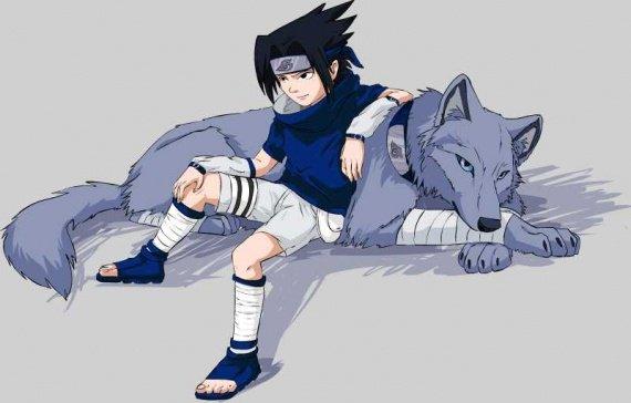 sasuke wolf