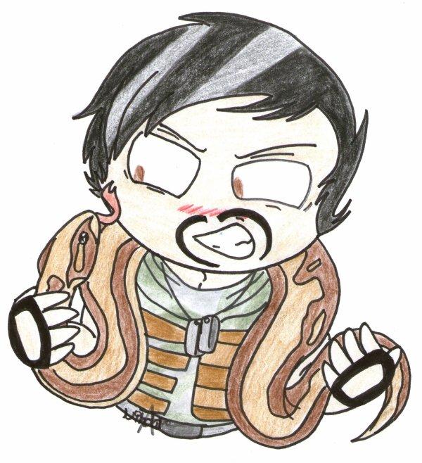 """"""" Si j'aime les serpents ? Oui...je les adore même. """" → Gareth"""