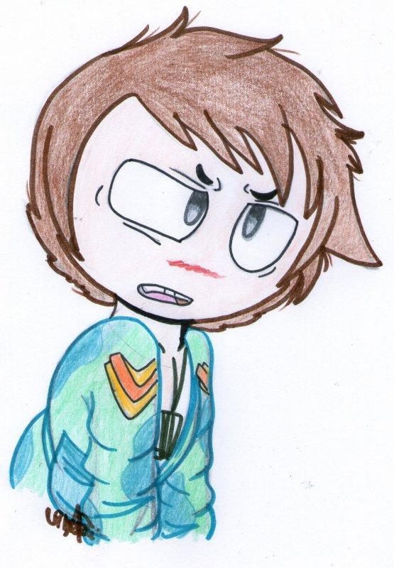 """"""" Même si je viens d'apprendre que Nikolaï est mon frère de sang.. c'est MA propriété ! """" Seth"""