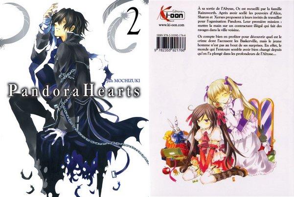 Pandora Hearts : Tome 2