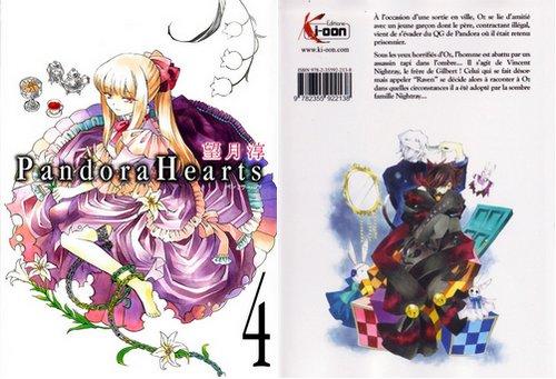 Pandora Hearts : Tome 4