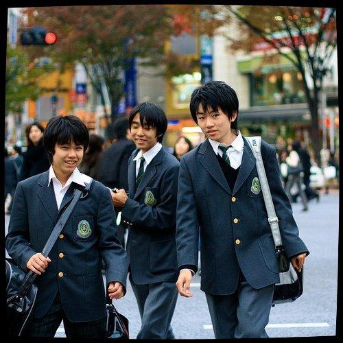 Le Look à la Japanese (Uniforme Scolaire)
