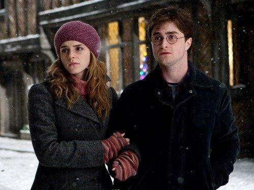 Harry et Hermione une tres belle amitié