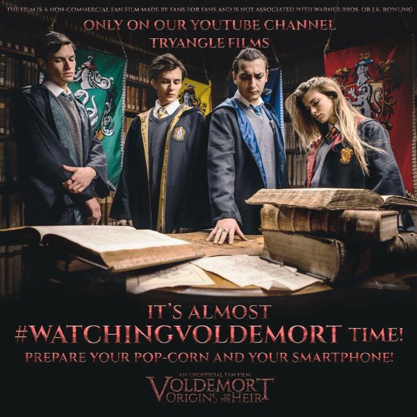 """""""Voldemort : L' origine de l' héritier le flims est disponible sur Youtube et il est sous titré fr"""