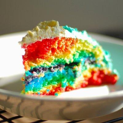 Gâteaux Très coloré