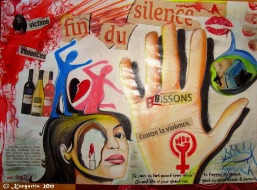 Contre la VIOLENCE CONJUGALE !!!