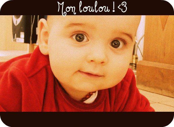 Mon filleul; Adrien.