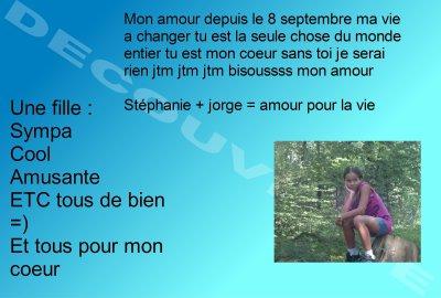 Mon Amour ( Stéphanie )