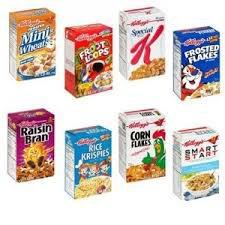 Comparatif de céréales!