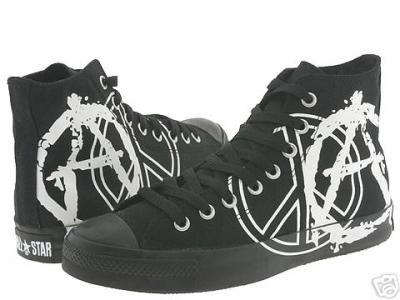 6c8dc5731dbf CONVERSE ALL STAR NOIRE PEACE ANARCHY - ChAUsuRes