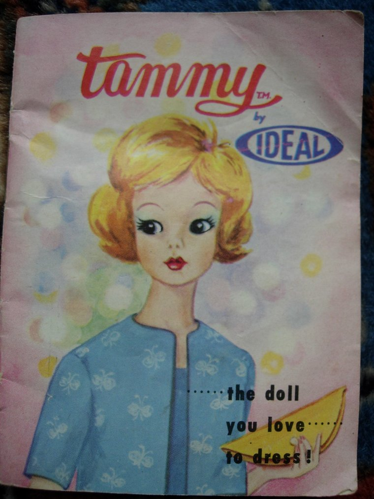 IDEAL TOYS CORPORATION : TAMMY DOLL AND BOX !!!