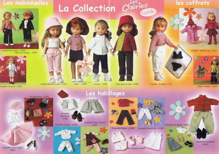"COROLLES Collection ""LES CHERIES"" 2001 / 2012 ..."