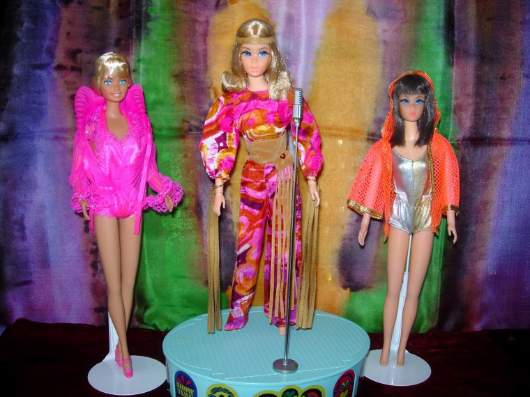 BARBIE VINTAGE - TNT - SUPERSTAR .....