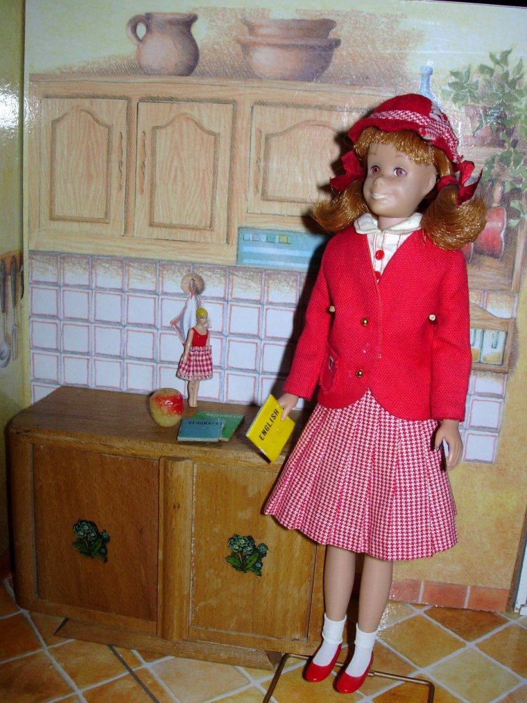 BARBIE & SKIPPER VINTAGE COLLECTION : STUDENT TEACHER & SCHOOL GIRL